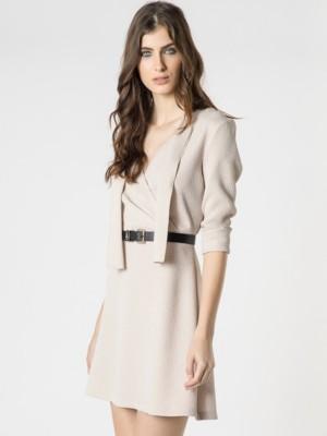 Patrizia Pepe - Короткое платье из фасонной ткани от Patrizia Pepe