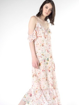 Patrizia Pepe - Длинное платье с принтом от Patrizia Pepe