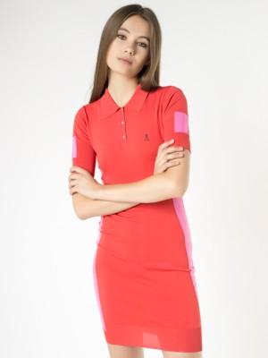 Patrizia Pepe - Короткое платье из технической пряжи с нейлоном и вискозой от Patrizia Pepe
