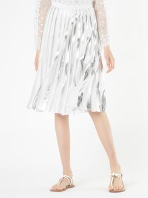 Patrizia Pepe - Плиссированная юбка из ткани с пропиткой