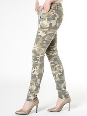 Patrizia Pepe - 5-карманные хлопковые брюки-стрейч