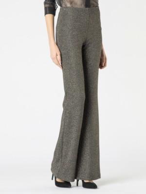 Patrizia Pepe - Длинные брюки из вязанотканого полотна с люрексом