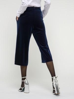 Patrizia Pepe - Укороченные брюки из эластичного бархата от Patrizia Pepe
