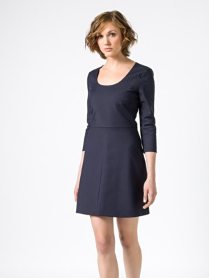 Patrizia Pepe - Короткое платье из биэластичной ткани кутюр от Patrizia Pepe