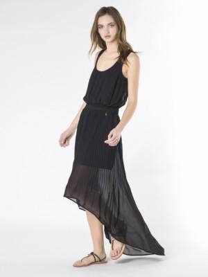 Patrizia Pepe - Длинное платье из плиссированной ткани от Patrizia Pepe