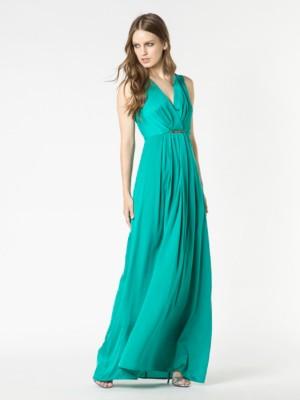 Patrizia Pepe - Длинное платье из струящейся ткани