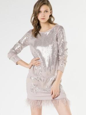 Patrizia Pepe - Вечернее платье, расшитое пайетками