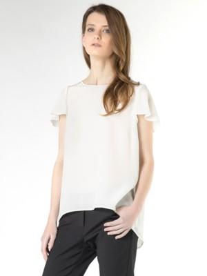 Patrizia Pepe - Шелковая блузка с коротким рукавом от Patrizia Pepe
