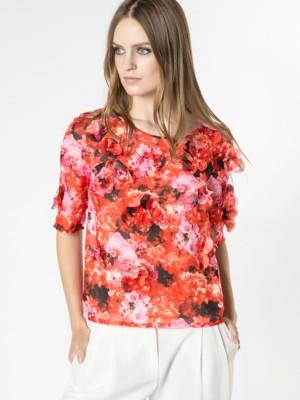 Patrizia Pepe - Рубашка-туника с цветочным принтом от Patrizia Pepe