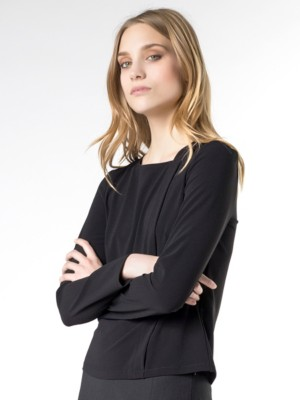 Patrizia Pepe - Рубашка-туника из вискозного крепа