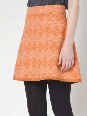 Patrizia Pepe - Мини-юбка с завышенной талией из мужской ткани