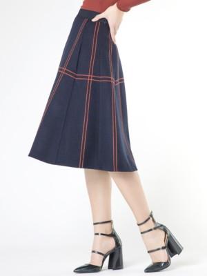 Patrizia Pepe - Полушерстяная юбка средней длины