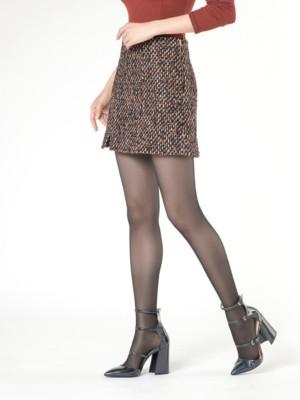 Patrizia Pepe - Мини-юбка из букле с рисунком