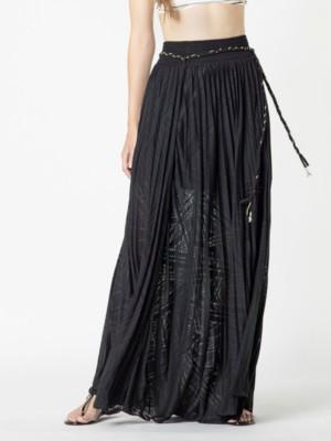 Patrizia Pepe - Длинная плиссированная юбка из вискозного джерси