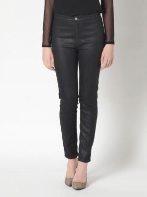 Patrizia Pepe - Обтягивающие джинсы с завышенной талией из денима стрейч