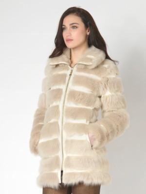 Patrizia Pepe - Двустороннее пальто из меха ягненка