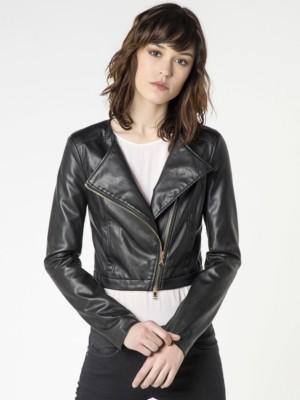 Patrizia Pepe - Куртка-косуха с боковой наклонной молнией