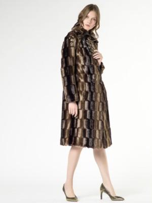 Patrizia Pepe - Длинное пальто с декоративными камнями