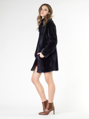 Patrizia Pepe - Пальто короткое из меха мериноса
