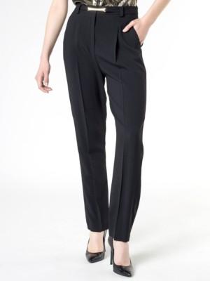 Patrizia Pepe - Мужские брюки до щиколотки из вискозного кади с глаженной стрелкой