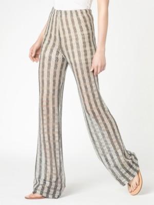 Patrizia Pepe - Широкие брюки из разноцветной вискозной пряжи