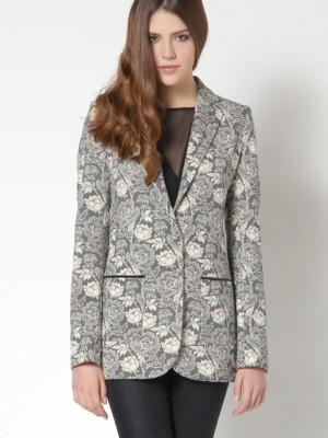 Patrizia Pepe - Мужской пиджак с рисунком из вискозного джерси стрейч