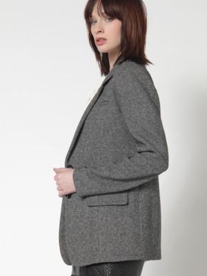 Patrizia Pepe - Длинный пиджак из мужской полушерстяной ткани