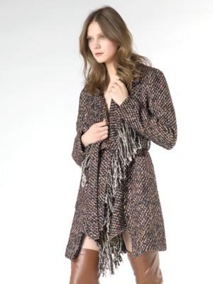 Patrizia Pepe - Деструктурированное пальто из фасонной ткани