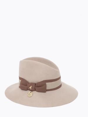 Patrizia Pepe - Шерстяная шляпа с лентой гро-гро