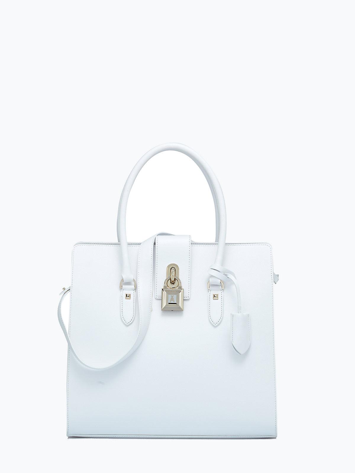 Patrizia Pepe Shopper in white