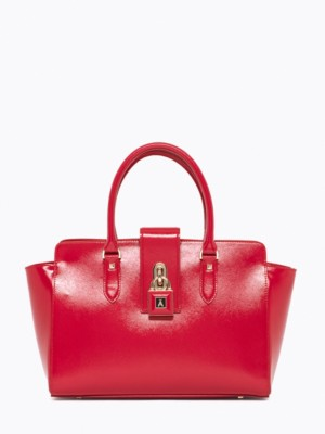 Patrizia Pepe - Кожаная сумка-саквояж с ремнем через плечо от Patrizia Pepe