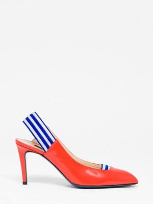 Patrizia Pepe - Кожаные туфли-лодочки от Patrizia Pepe