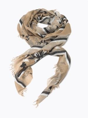 Patrizia Pepe - Шарф-платок из модал-джерси с принтом