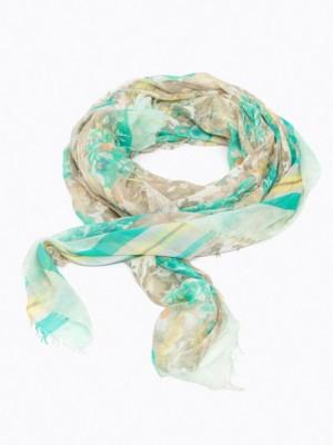 Patrizia Pepe - Шафр-платок из модал-шелка с принтом