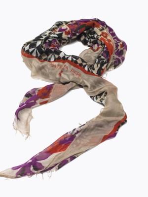 Patrizia Pepe - Нашейный платок из смески шелка с принтом