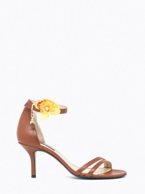 Patrizia Pepe - Кожаные сандалии на каблуке