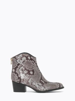 Patrizia Pepe - Ковбойские кожаные сапоги в стиле техас