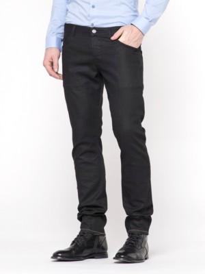 Patrizia Pepe - Обтягивающие джинсы с 5 карманами из просмоленного денима от Patrizia Pepe