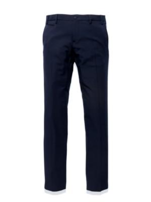 Patrizia Pepe - Классические брюки узкого кроя из шерстяного габардина стрейч