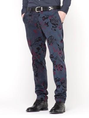 Patrizia Pepe - Классические брюки зауженного кроя из эластичной хлопковой бумазеи