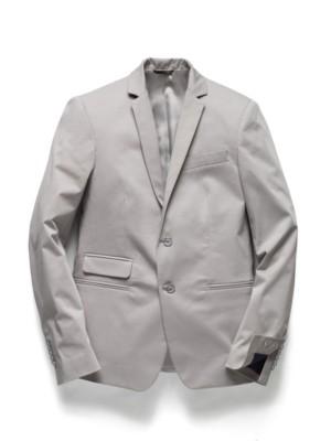 Patrizia Pepe - Классический пиджак на 2 пуговицах из хлопкового габардина стрейч
