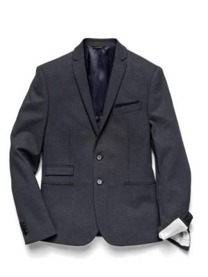 Patrizia Pepe - Классический пиджак на 2 пуговицах из принтованного джерси