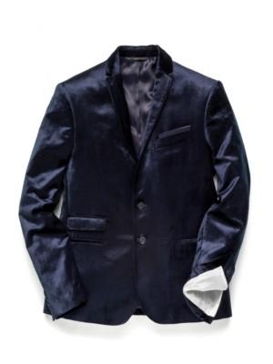 Patrizia Pepe - Классический пиджак на 2 пуговицах из кроеного бархата