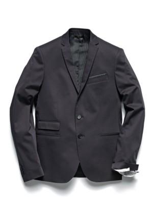 Patrizia Pepe - Классический пиджак с 2 пуговицами из хлопкового атласа стрейч
