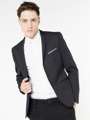 Patrizia Pepe - Классический пиджак на 2 пуговицах из полотна, эластичного в двух направлениях