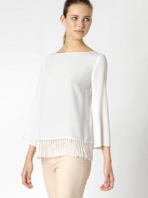 Patrizia Pepe - Рубашка полушелковая с рукавом три четверти