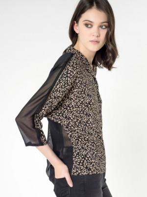 Patrizia Pepe - Шелковая блузка с длинным рукавом от Patrizia Pepe