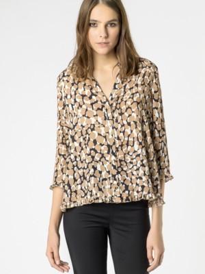 Patrizia Pepe - Рубашка с длинным рукавом из ткани смешанного состава