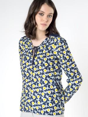 Patrizia Pepe - Шелковая блузка с длинным рукавом