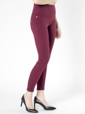 Patrizia Pepe - Обтягивающие брюки с 5 карманами из хлопкового габардина стрейч